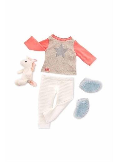 Our Generation Our Generation Unicorn Oyuncak Bebek Pijama Seti Renkli